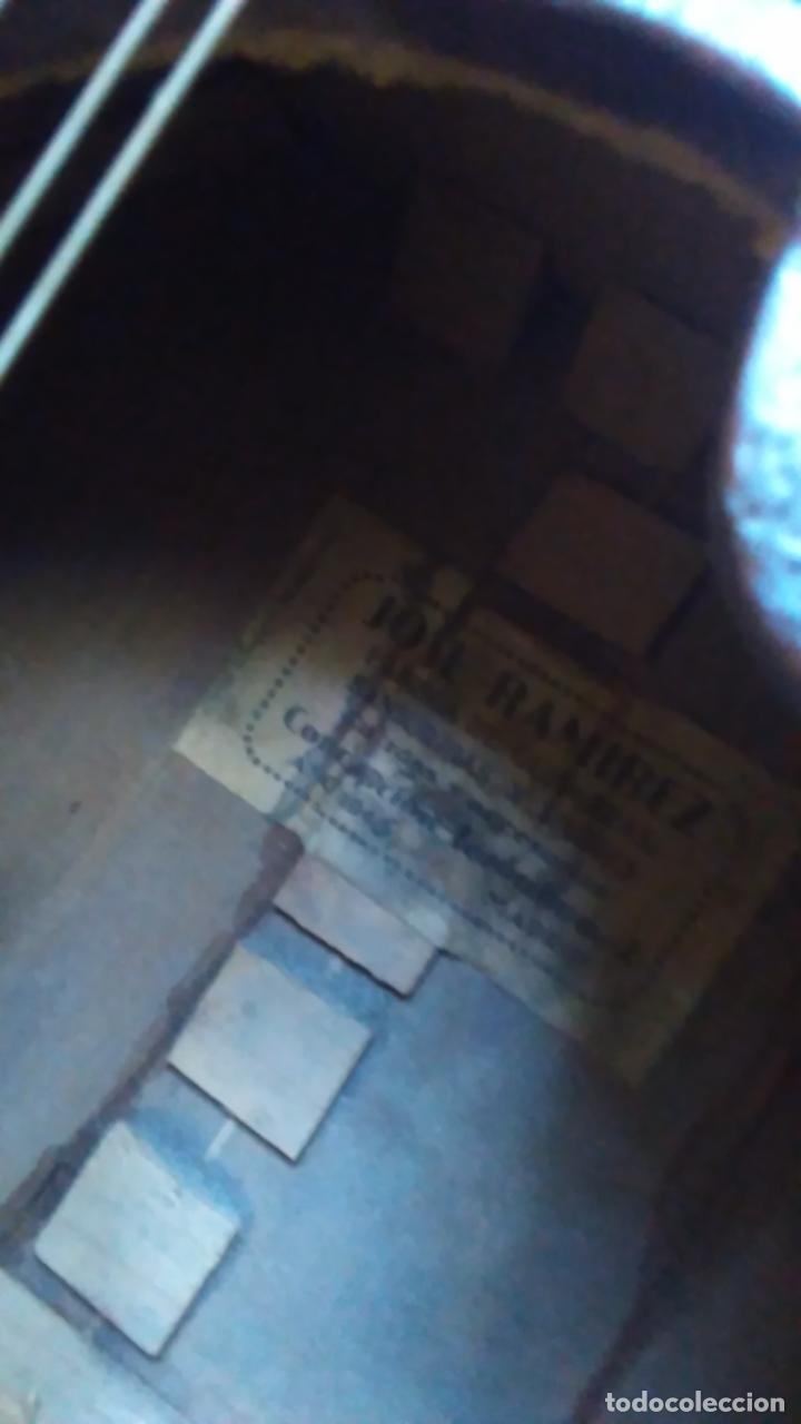 Instrumentos musicales: Bandurria de la fábrica de José Ramirez del año 1946 - Foto 12 - 57342219