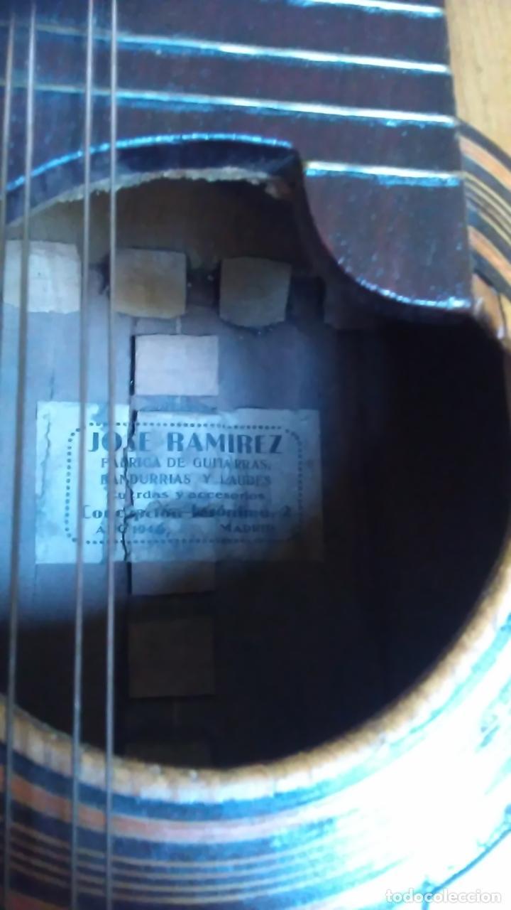 Instrumentos musicales: Bandurria de la fábrica de José Ramirez del año 1946 - Foto 13 - 57342219
