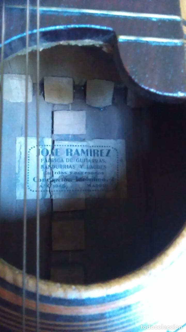 Instrumentos musicales: Bandurria de la fábrica de José Ramirez del año 1946 - Foto 14 - 57342219