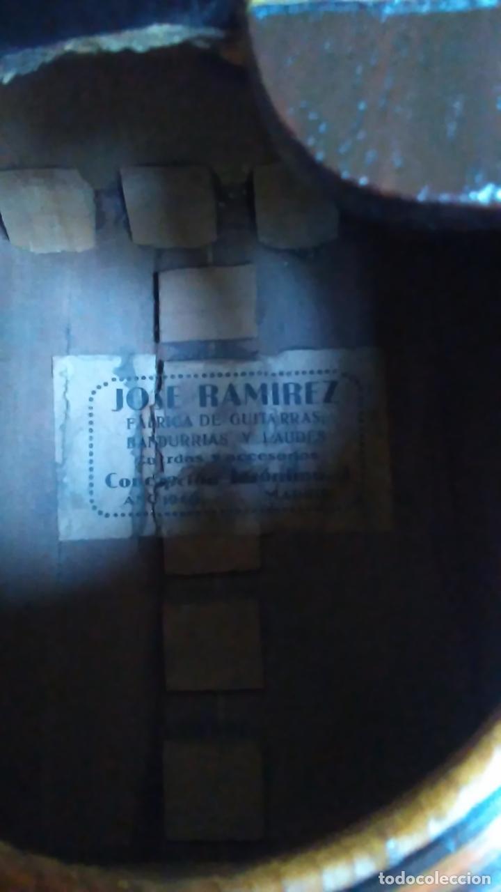 Instrumentos musicales: Bandurria de la fábrica de José Ramirez del año 1946 - Foto 15 - 57342219