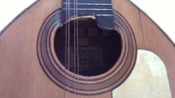 Instrumentos musicales: Bandurria de la fábrica de José Ramirez del año 1946 - Foto 16 - 57342219