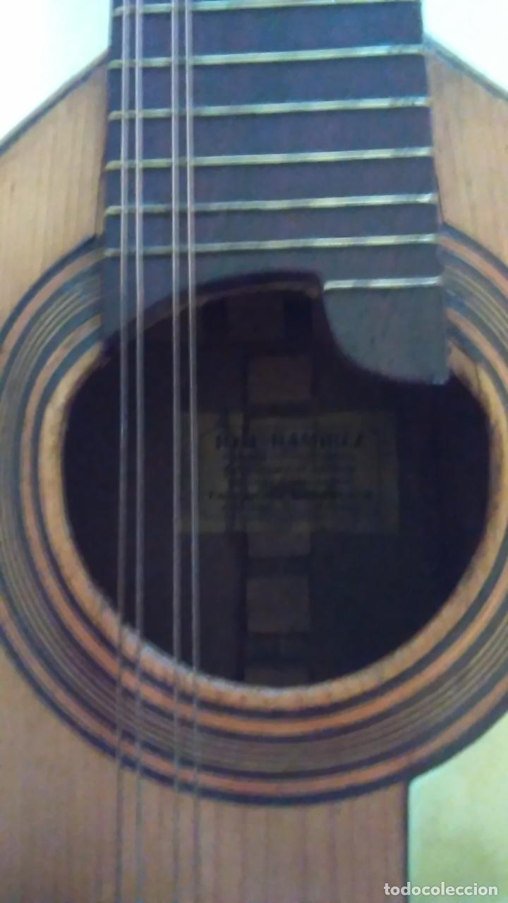 Instrumentos musicales: Bandurria de la fábrica de José Ramirez del año 1946 - Foto 17 - 57342219