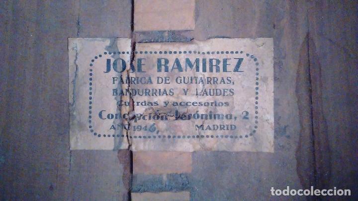 Instrumentos musicales: Bandurria de la fábrica de José Ramirez del año 1946 - Foto 19 - 57342219