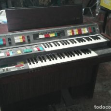 Instrumentos musicales: ORGANO PIANO ALTON MOD. 7, DOBLE TECLADO. VINTAGE. Lote 78024185