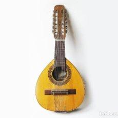 Instrumentos musicales: BANDURRIA DE LA FABRICA DE GUITARRAS BANDURRIAS Y LAUDES HIJOS DE VICENTE TATAY - VALENCIA AÑOS 50. Lote 78901809