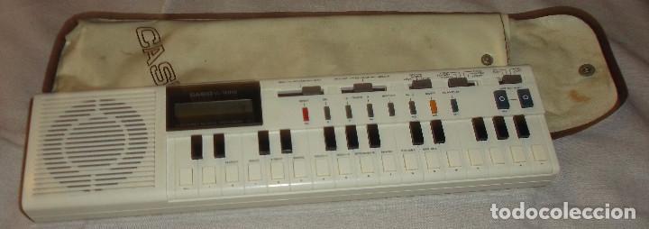 PIANO CASIO DE LOS AÑOS 80 MODELO VL- 1 EN FUNCIONAMIENTO (Música - Instrumentos Musicales - Pianos Antiguos)