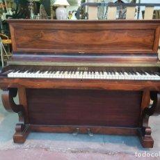 Instrumentos musicales: PRECIOSO PIANO VERTICAL EN CAOBA. Lote 80989772