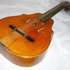 Instrumentos musicales: LAÚD MUY ANTIGUO ETIQUETA DE SALVADOR IBAÑEZ E HIJOS DE VALENCIA. Lote 81034664