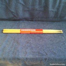 Instrumentos musicales: BAQUETAS DE MADERAGOODWOOD 5A U.S.A HICKORY BY VATER EN FUNDA ORIGINAL ( NUEVAS ). Lote 82164220
