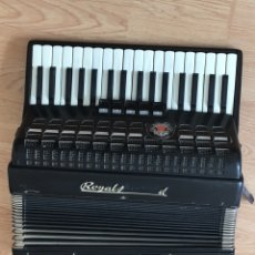 Instrumentos musicales: GERMAN PIANO ACCORDION ROYAL STANDARD METEOR 80 BASS. Lote 83453442