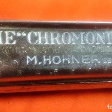 Instrumentos musicales: ARMONÍCA M.HOHNER THE CHROMONICA. Lote 83971440
