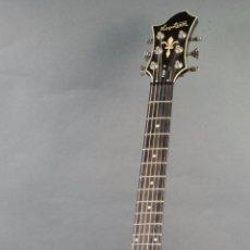 Instrumentos musicales: GUITARRA ELÉCTRICA HAGSTROM F200P FULL CONTACT SYSTEM ACABADO NEGRO BRILLANTE SEIS CUERDAS. Lote 83996304