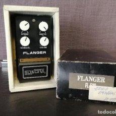 Instrumentos musicales: PEDAL SONORA VINTAGE FLANGER PARA GUITARRA ELÉCTRICA . Lote 84349256