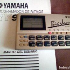 Instrumentos musicales: DRUM MACHINE / CAJA DE RITMOS YAMAHA RY9 + MANUAL. Lote 84644616