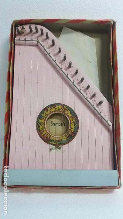 ARPA DE MADERA PEQUEÑA (Música - Instrumentos Musicales - Cuerda Antiguos)