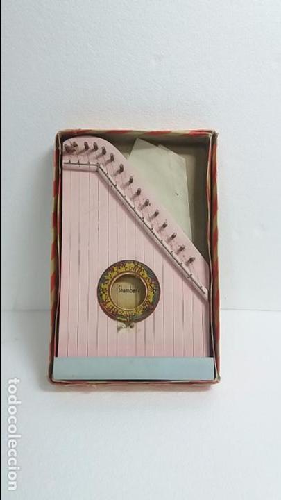 Instrumentos musicales: Arpa de madera pequeña - Foto 2 - 85023532