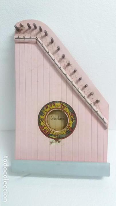 Instrumentos musicales: Arpa de madera pequeña - Foto 3 - 85023532