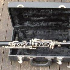 Instrumentos musicales: VIEJO CLARINETE MARQUE. FUNCIONANDO.. Lote 159270441