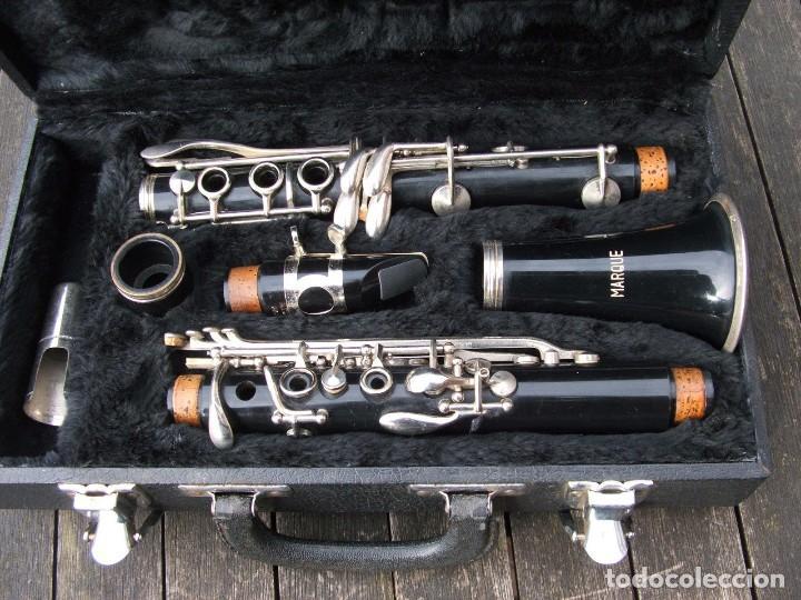 Instrumentos musicales: VIEJO CLARINETE MARQUE. FUNCIONANDO. - Foto 2 - 159270441