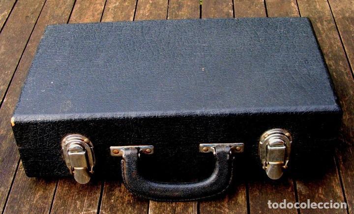 Instrumentos musicales: VIEJO CLARINETE MARQUE. FUNCIONANDO. - Foto 8 - 159270441