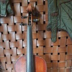 Instrumentos musicales: VIOLIN ANTIGUO CON ETIQUETA W. THOMPSON ROADW EBLY. Lote 85431479