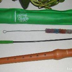 Instrumentos musicales: FLAUTA DULCE DE MADERA DE PERAL DE LA MARCA ALEMANA HOHNER DE DOS PIEZAS CON BOQUILLA ERGONÓMICA . Lote 86311860
