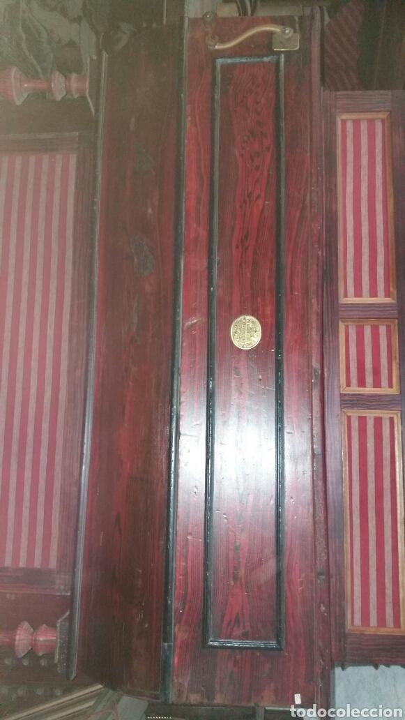 Instrumentos musicales: Esplendido y antiguo organillo o piano de manubrio - Foto 9 - 30983993
