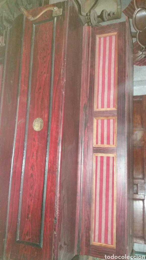 Instrumentos musicales: Esplendido y antiguo organillo o piano de manubrio - Foto 11 - 30983993