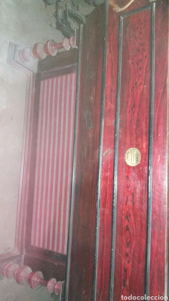 Instrumentos musicales: Esplendido y antiguo organillo o piano de manubrio - Foto 14 - 30983993