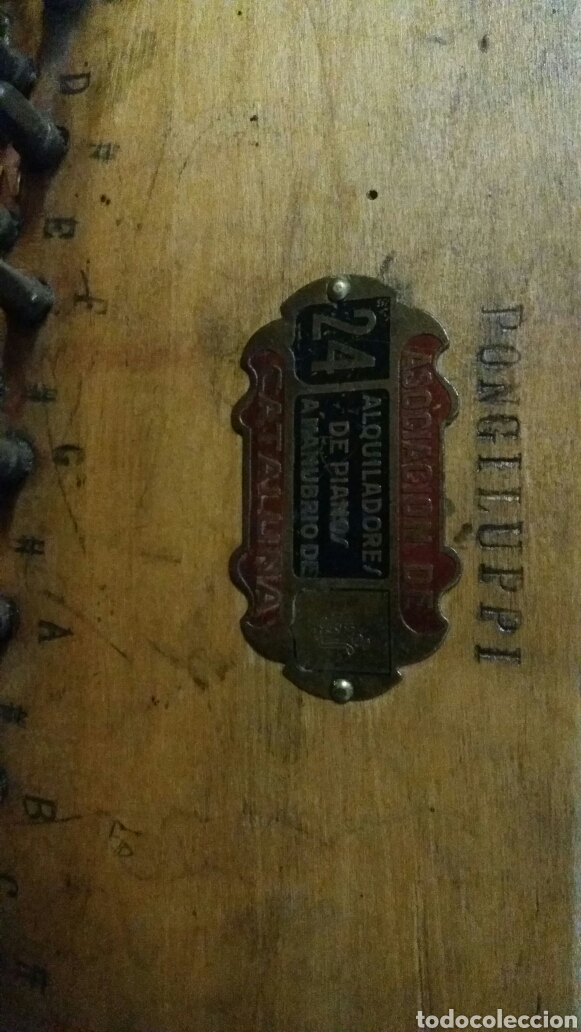 Instrumentos musicales: Esplendido y antiguo organillo o piano de manubrio - Foto 21 - 30983993
