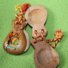 Instrumentos musicales: CASTAÑUELAS DE NIÑA-AÑOS 80/90. Lote 86684320