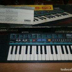 Instrumentos musicales: ORGANO ELECTRONICO Y A PILAS RETRO YAMAHA PSS50 PIANO PSS 50 MUY BUEN ESTADO CAJA E INSTRUCCIONES . Lote 86875624