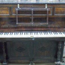 Instrumentos musicales: RARO Y ANTIGUO PIANO ESCAMOTEABLE MARCA MONTANO- MADRID -PIANO PLEGABLE -GRAN SONIDO. Lote 87497272