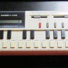 Instrumentos musicales: TECLADO ORGANO PIANO CASIO VL-TONE JAPAN AÑOS 80S FUNCIONANDO CASIOTONE VL 1. Lote 87681516