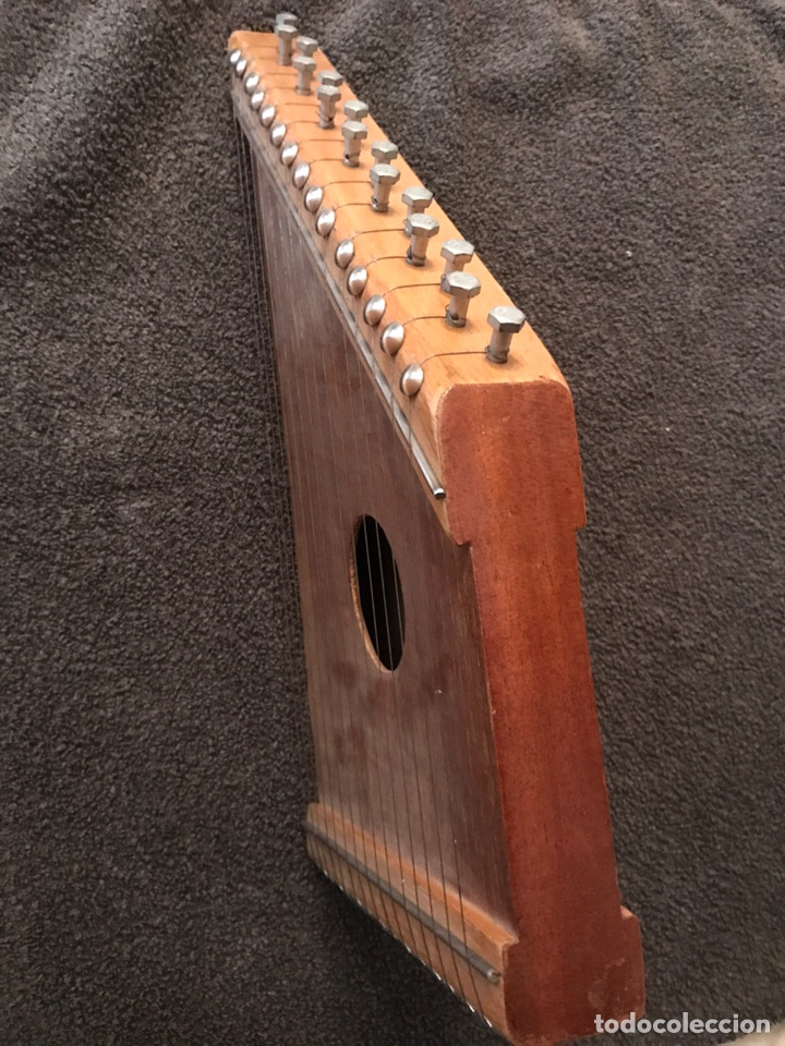 Instrumentos musicales: KANKLES o SINARRA (instrumento de cuerda) Años 60 - Foto 2 - 87791339