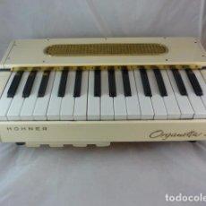 Instrumentos musicales: HOHNER ORGANETTA 3 - 125/220V - FUNCIONANDO - AÑOS 50 - ORGANO ELECTRICO. Lote 89696096