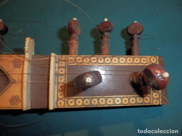 Instrumentos musicales: INSTRUMENTO DE CUERDA TIPO SITAR - VER FOTOS Y DETALLES - Foto 2 - 98480628