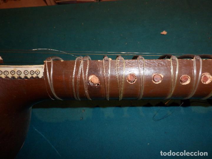 Instrumentos musicales: INSTRUMENTO DE CUERDA TIPO SITAR - VER FOTOS Y DETALLES - Foto 8 - 98480628