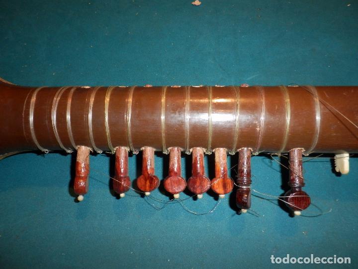 Instrumentos musicales: INSTRUMENTO DE CUERDA TIPO SITAR - VER FOTOS Y DETALLES - Foto 11 - 98480628