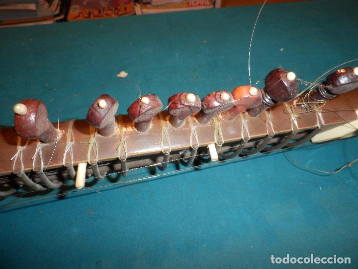 Instrumentos musicales: INSTRUMENTO DE CUERDA TIPO SITAR - VER FOTOS Y DETALLES - Foto 15 - 98480628