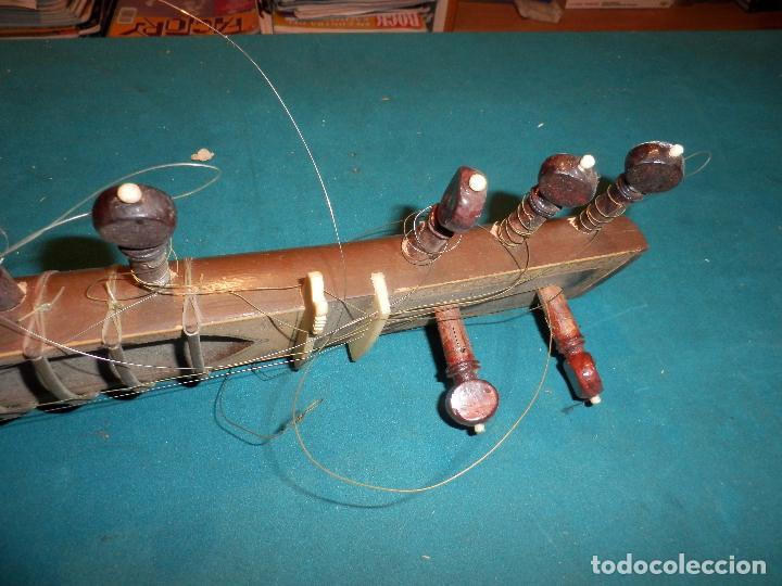 Instrumentos musicales: INSTRUMENTO DE CUERDA TIPO SITAR - VER FOTOS Y DETALLES - Foto 16 - 98480628