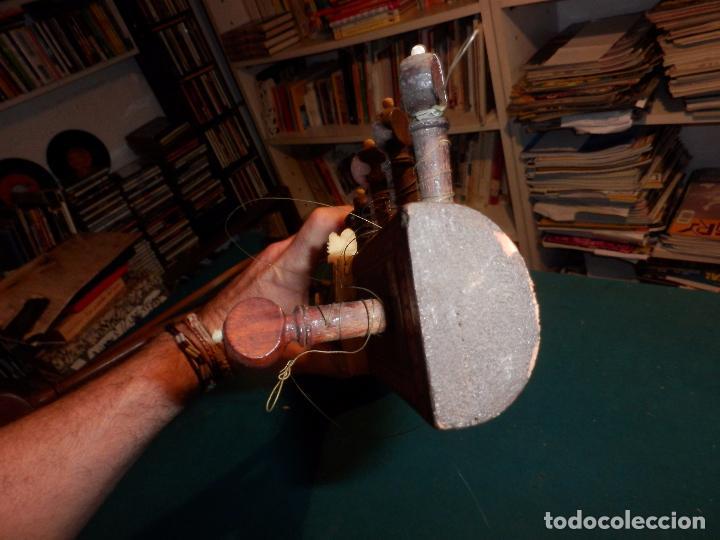 Instrumentos musicales: INSTRUMENTO DE CUERDA TIPO SITAR - VER FOTOS Y DETALLES - Foto 17 - 98480628