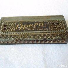 Instrumentos musicales: ANTIGUA ARMONICA OPERA DE KELLER. Lote 90096768