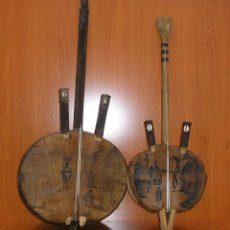 Instrumentos musicales: LOTE DE 2 INSTRUMENTO MUSICAL AFRICANO KORA.. Lote 90382396