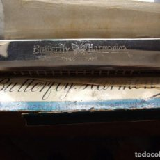 Instrumentos musicales: ARMONICA BUTTERFLY Y LIBRO - NIPPON GAKKI SEIZO KABUSHKI KAISHA - MADE IN JAPAN - BUEN ESTADO. Lote 90804160