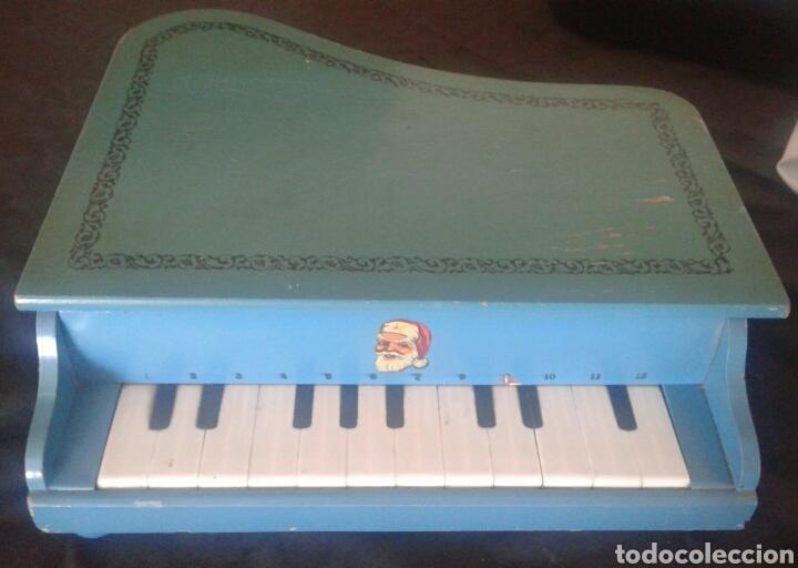 ANTIGUO PIANO COLA JUGUETE MADERA (Música - Instrumentos Musicales - Pianos Antiguos)