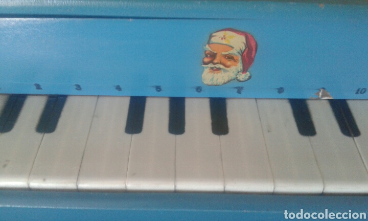 Instrumentos musicales: Antiguo piano cola juguete madera - Foto 2 - 90895982
