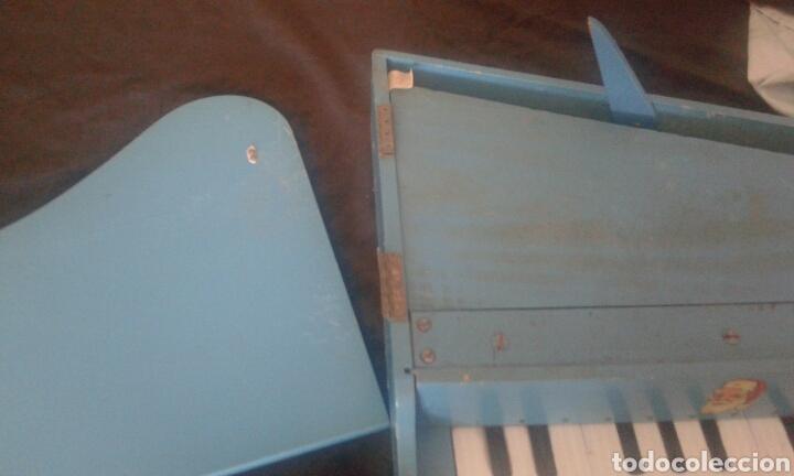 Instrumentos musicales: Antiguo piano cola juguete madera - Foto 6 - 90895982