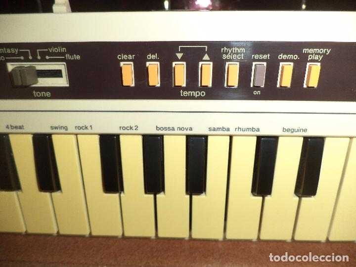 Instrumentos musicales: Teclado Stereo Casio CK 10 .Made in Japan 1980,con radio AM / FM.Keyboard vintage. - Foto 9 - 90910685