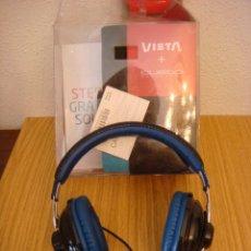 Instrumentos musicales: AURICULARES VIETA + CUSTO COLOR NEGRO ES NUEVO (#). Lote 91176140